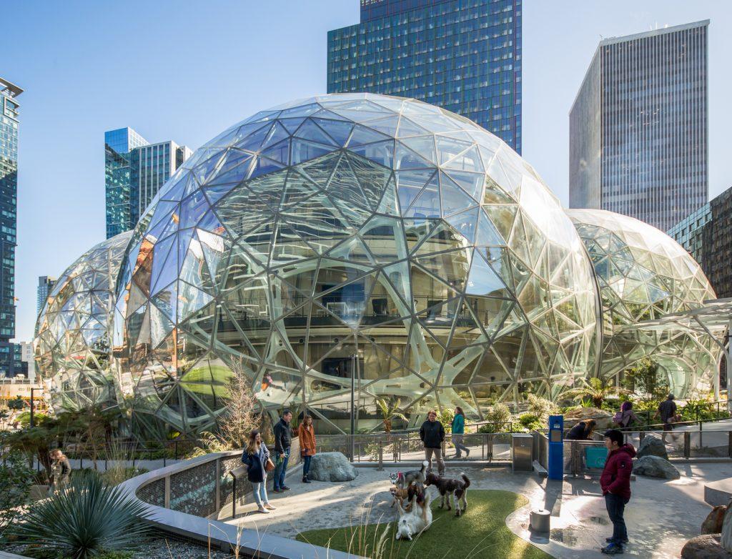 The Speheres, Amazon, Seattle, USA